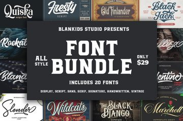 all style fonts